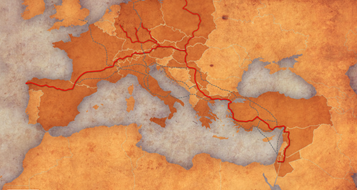 Jerusalemwegkarte