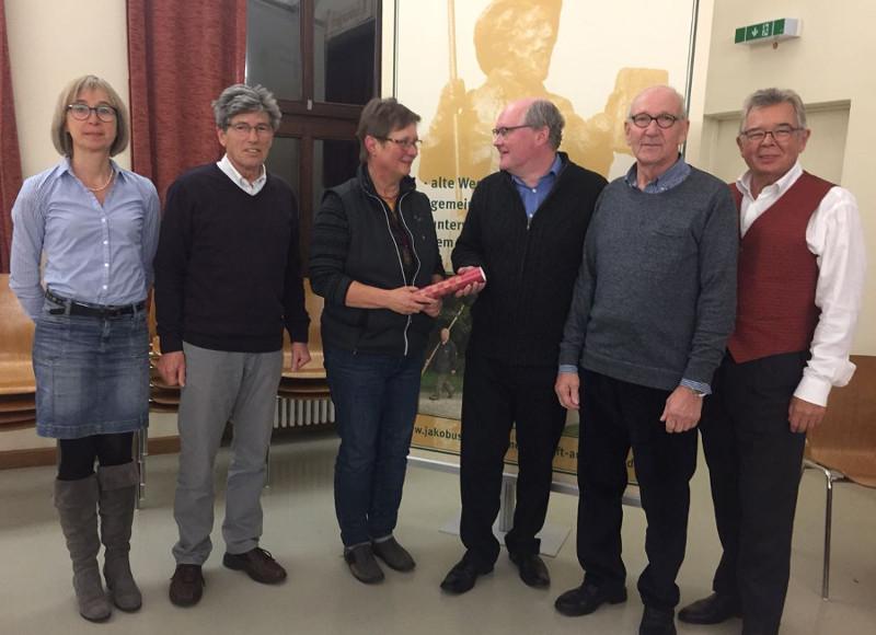 Jakobus Pilgergemeinschaft Augsburg Neuwahlen Jahreshauptversammlung